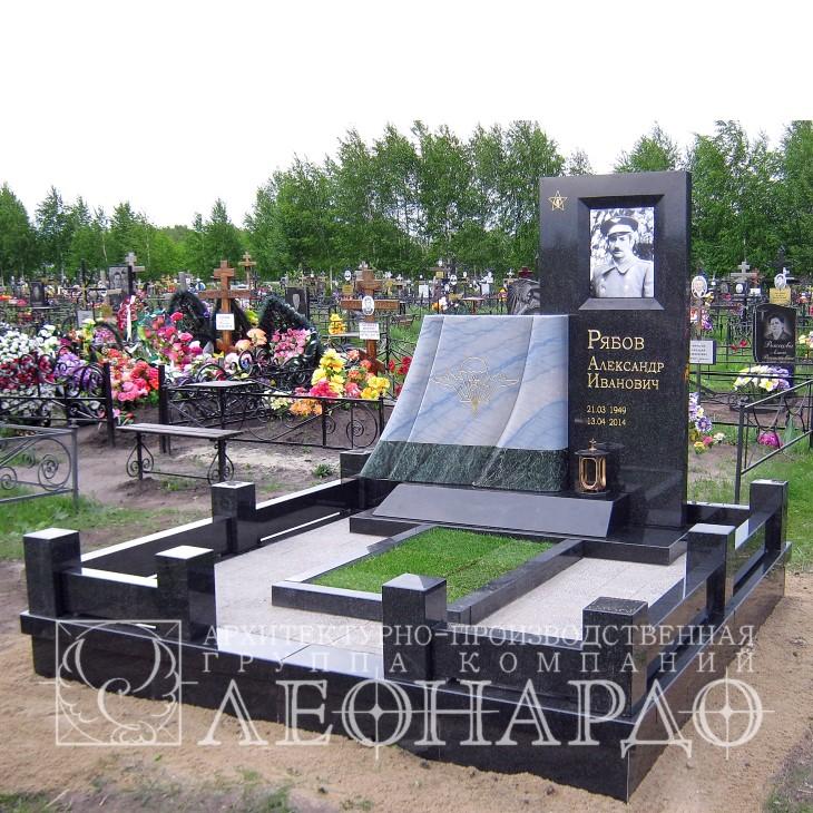 мемориальный комплекс - надгробие